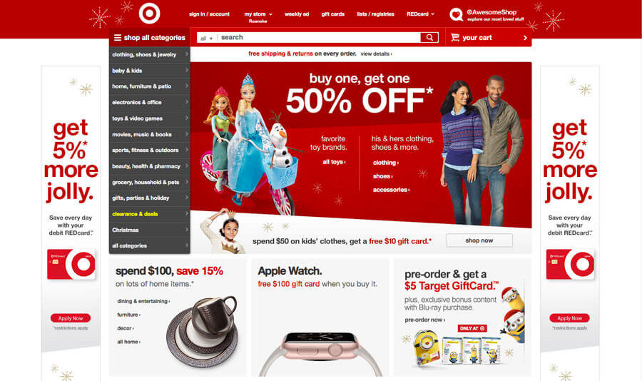 Components And Aspects Of E-commerce Web Design